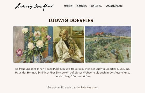 Vorschau von www.ludwig-doerfler-museum.de, Schillingsfürst, Ludwig Dörfler Museum