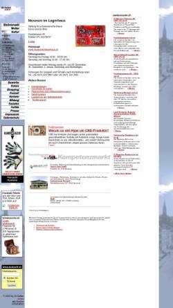 Vorschau der mobilen Webseite www.st.gallen.ch, St.Gallen, Museum im Lagerhaus