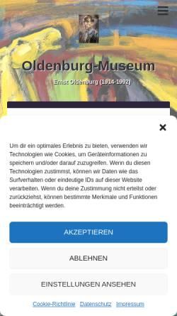 Vorschau der mobilen Webseite oldenburg-museum.de, Unna, Oldenburg-Museum