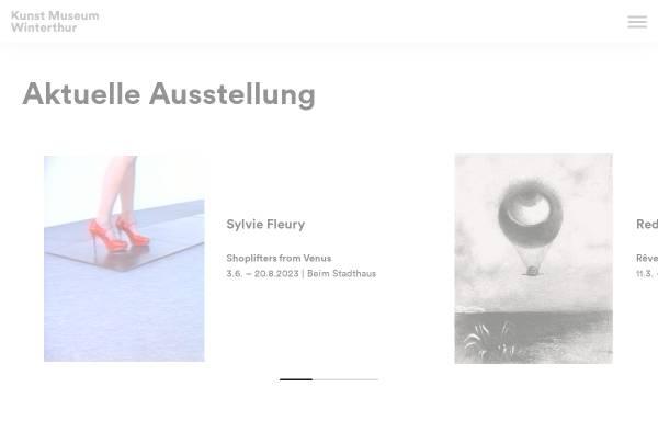 Vorschau von www.kmw.ch, Winterthur, Kunstmuseum