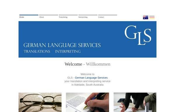Vorschau von www.glsgerman.com, GLS German Language Services