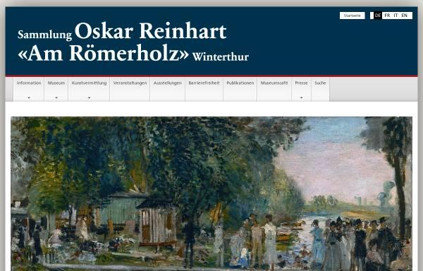 Vorschau von www.bundesmuseen.ch, Winterthur, Sammlung Oskar Reinhart