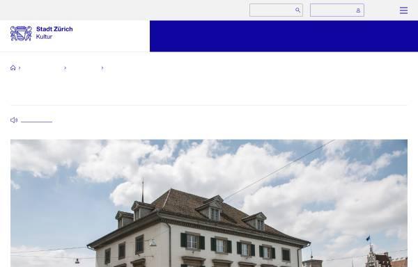 Vorschau von www.stadt-zuerich.ch, Zürich, Helmhaus
