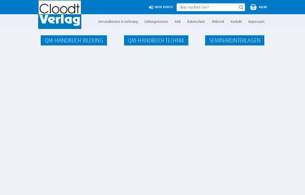 Vorschau von www.cloodt.de, Cloodt-Verlag