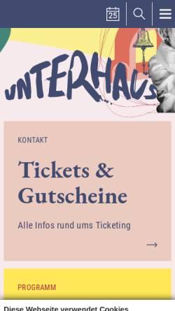 Vorschau der mobilen Webseite www.exba.de, forum! Marktforschung GmbH