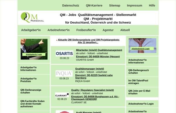 Vorschau von www.qm-personal.com, QM-Personal, Inh. Horst Steiniger