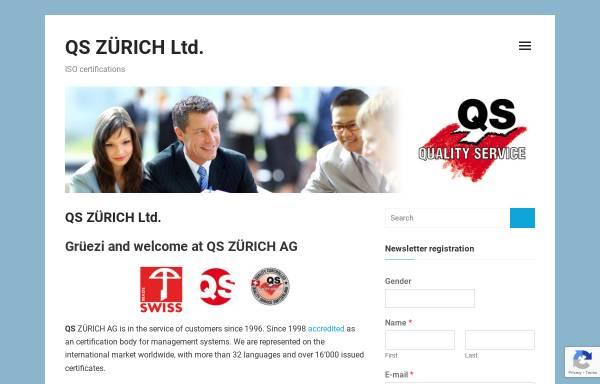 Vorschau von www.quality-service.ch, QS Zürich AG, QS Schaffhausen AG und QS Basel AG
