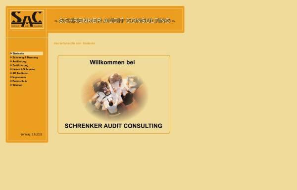 Vorschau von www.zertifizierungsauditor.de, Schrenker Audit Consulting Inh. Heinrich Schrenker