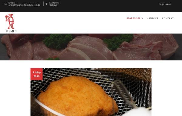 Vorschau von www.hermes-fleischwaren.de, Hermes Fleischwaren GmbH + Co. KG