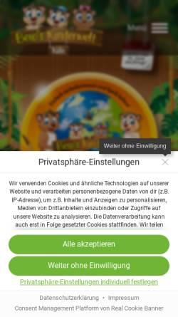 Vorschau der mobilen Webseite www.okidoki-koeln.de, Okidoki Kinderland Köln