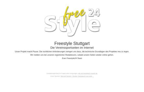 Vorschau von www.freestyle-stuttgart.de, Freestyle Stuttgart - Sport in Stuttgart