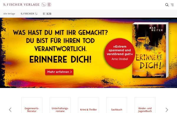Vorschau von www.fischerverlage.de, S. Fischer Verlage