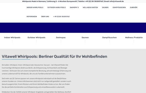 Vorschau von www.vitawell-ag.de, Vitawell AG