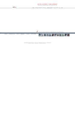 Vorschau der mobilen Webseite www.dcyc.de, Deutscher Challenger Yacht Club e.V. (DCYC)