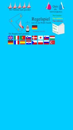 Vorschau der mobilen Webseite game.finckh.net, Quiz Wettfahrtregeln