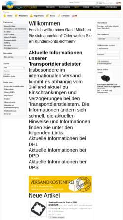 Vorschau der mobilen Webseite www.aqua-computer-systeme.de, Aqua Computer Systeme GbR