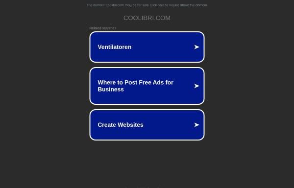 Vorschau von www.coolibri.com, COOLIBRI