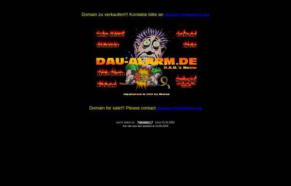 Vorschau von www.dau-alarm.de, DAU-Alarm