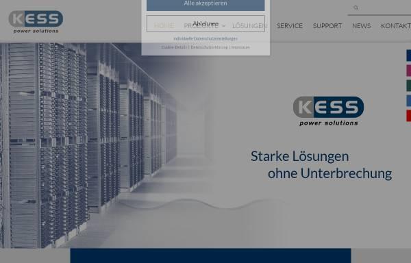 Vorschau von www.kess.at, KESS Power Solutions GmbH
