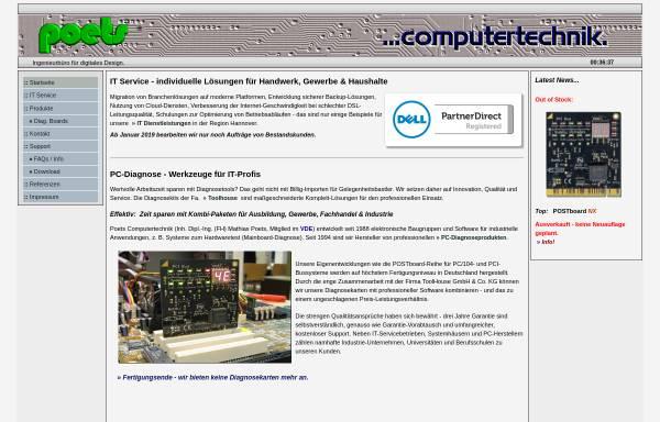 Vorschau von www.poets-computertechnik.de, Poets Computertechnik
