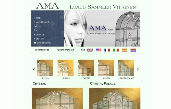 Vorschau von www.ama-schoenerwohnen.de, AMA Schöner Wohnen Vertriebsgesellschaft mbH