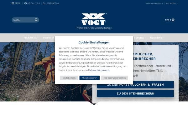 Vorschau von www.vogtgmbh.com, Adolf Vogt GmbH Werksvertretungen & Co.KG