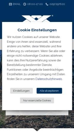 Vorschau der mobilen Webseite www.vogtgmbh.com, Adolf Vogt GmbH Werksvertretungen & Co.KG