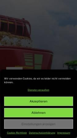 Vorschau der mobilen Webseite www.wirth-landtechnik.de, Wirth GmbH Landtechnik, Bayern