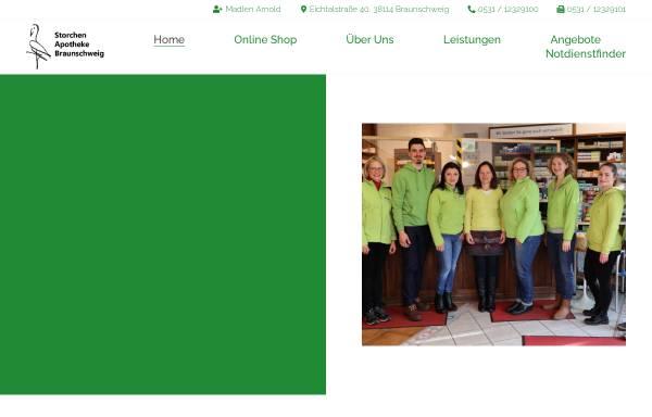 Vorschau von www.storchen-apotheke.info, Storchen-Apotheke