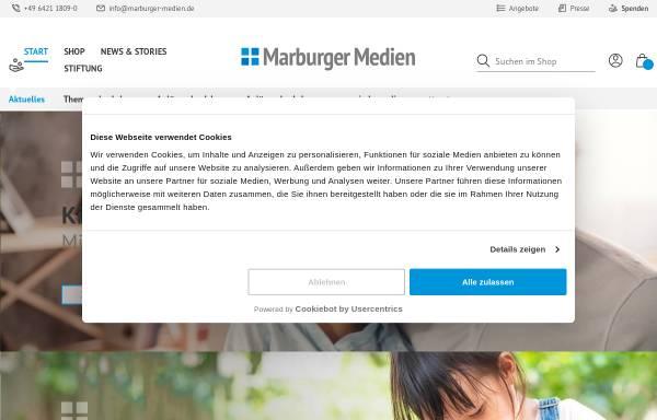 Vorschau von www.marburger-medien.de, Stiftung Marburger Medien