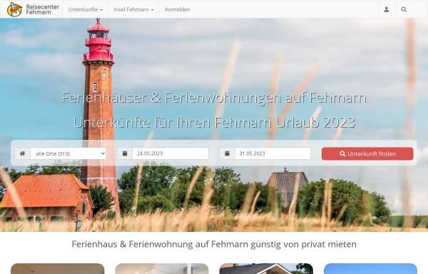Vorschau von www.reisecenter-fehmarn.de, Reisecenter Fehmarn GbR
