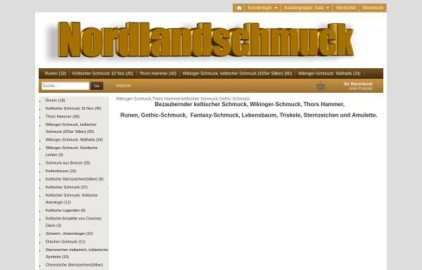 Vorschau von www.nordlandschmuck-shop.de, Nordlandschmuck-Shop
