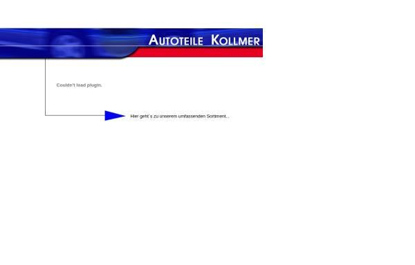 Vorschau von www.autoteile-kollmer.de, Autoteile Kollmer, Inh. Josef Kollmer