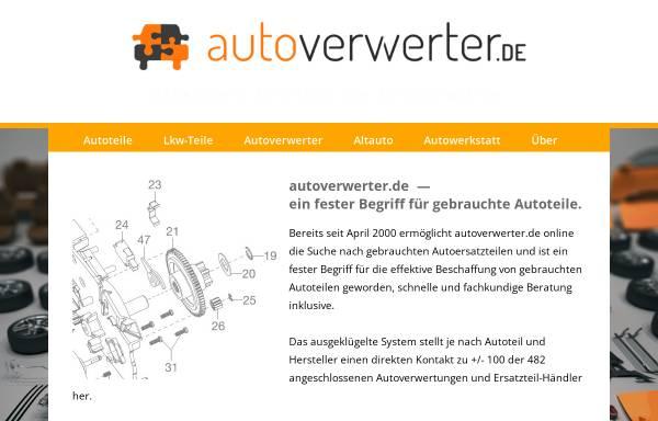 Vorschau von autoverwerter.de, Autoverwerter.de e.K.