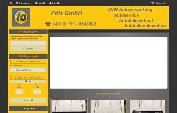 Vorschau von shop.avw-autoverwertung.de, AVW Autoverwertung Fölz GmbH