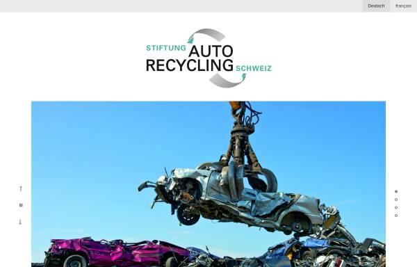 Vorschau von www.stiftung-autorecycling.ch, Stiftung Autorecycling Schweizer Automobil-Importeure im Dienste der Umwelt