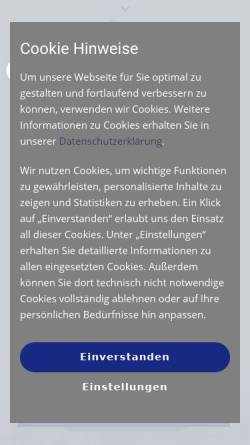 Vorschau der mobilen Webseite www.bastuck.de, Bastuck, Christoph