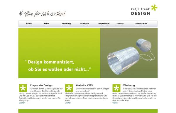 Vorschau von katjafrank.de, Frank, Katja Dipl.Grafikdesigner FH