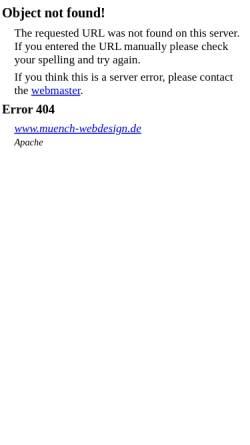 Vorschau der mobilen Webseite www.muench-webdesign.de, Münch Webdesign Saar