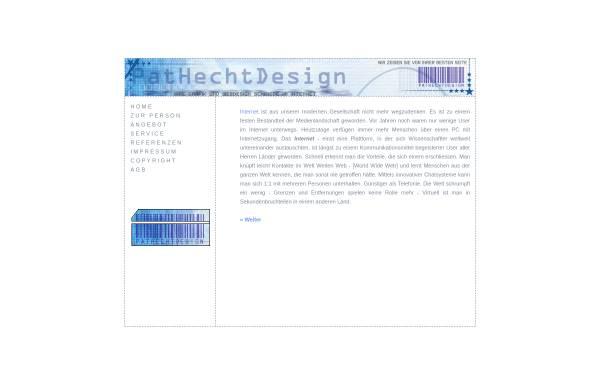 Vorschau von www.pathechtdesign.de, Pat Hecht Design Patricia Hecht