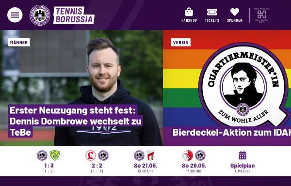 Vorschau von www.tebe.de, Tennis Borussia Berlin