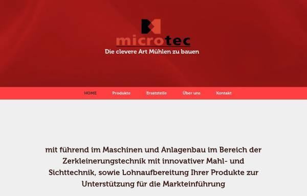 Vorschau von www.microtec-gmbh.eu, Microtec GmbH