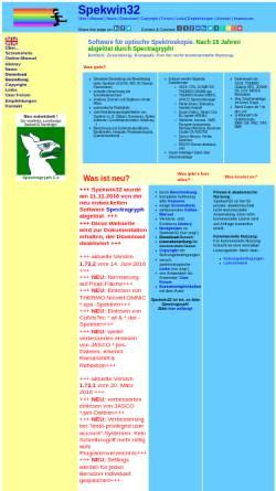 Vorschau der mobilen Webseite www.effemm2.de, Spekwin32