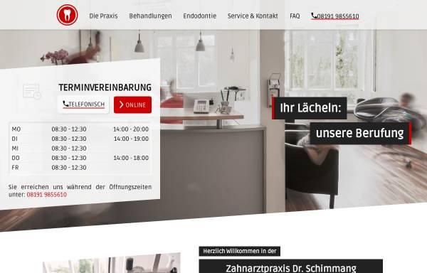 Vorschau von www.zahndr.de, Dr. Kai-Uwe Schimmang