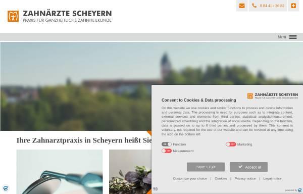 Vorschau von www.zahnaerzte-scheyern.de, Dr. Schwab Dr. Kleinschmidt Dr. Fiedler Zahnärzte