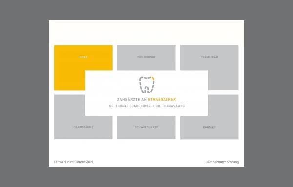 Vorschau von www.dr-frauenholz.de, Dr. Thomas Frauenholz Zahnarzt
