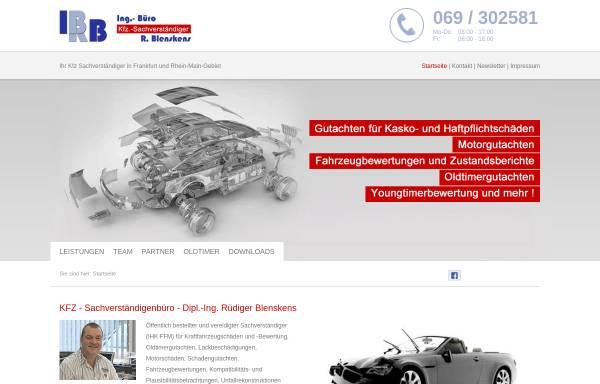 Vorschau von ibrb.de, Ingenieur-Büro - Dipl. Ing. Rüdiger Blenskens