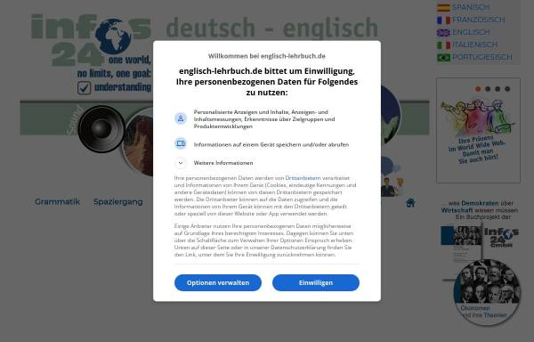 Vorschau von www.englisch-lehrbuch.de, Englisch Lehrbuch