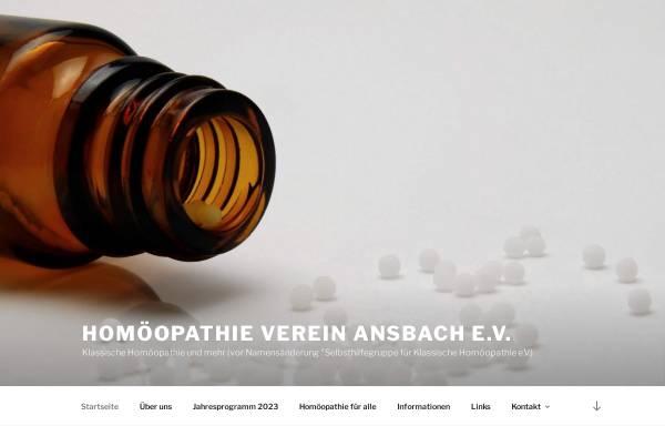 Vorschau von www.homoeopathie-ansbach.de, Klassische Homöopathie Ansbach