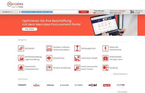 Vorschau von www.mercateo.com, Mercateo AG